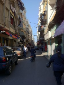 A Street in Beirut